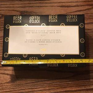☕️ coffee o'clock beer 🍺 o'clock mug pint glass
